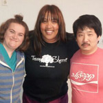 Kym Whitley, Betsy Sodaro and Bobby Lee
